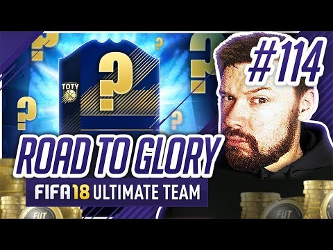 ANOTHER HUGE TEAM OF THE YEAR BOUGHT! - #FIFA18 Road to Glory! #114 Ultimate Team