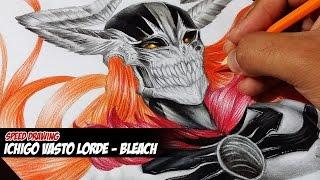 Desenhando Ichigo Vasto Lorde - Bleach (Drawing Ichigo Vasto Lorde)