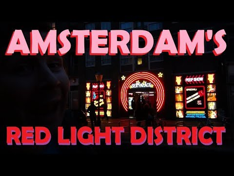 A March Through Europe (Pt. 86) - The Red Light District Of Amsterdam, De Wallen