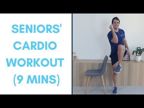 Seniors' Cardio Workout Exercises For Seniors