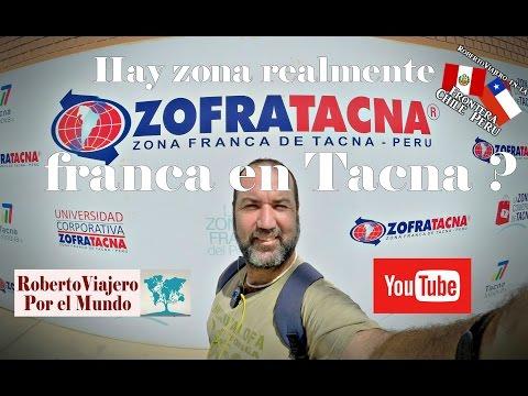 Hay Zona Franca en TACNA  | PERU ❓ 👈