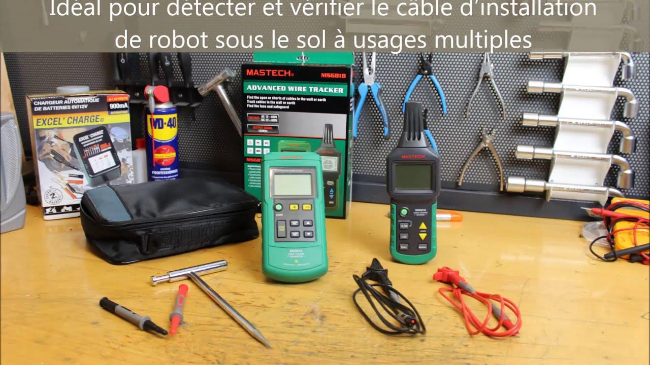 Testeur câble périmétrique pour robot tondeuse par GAZONEO le spécialiste  du gazon.