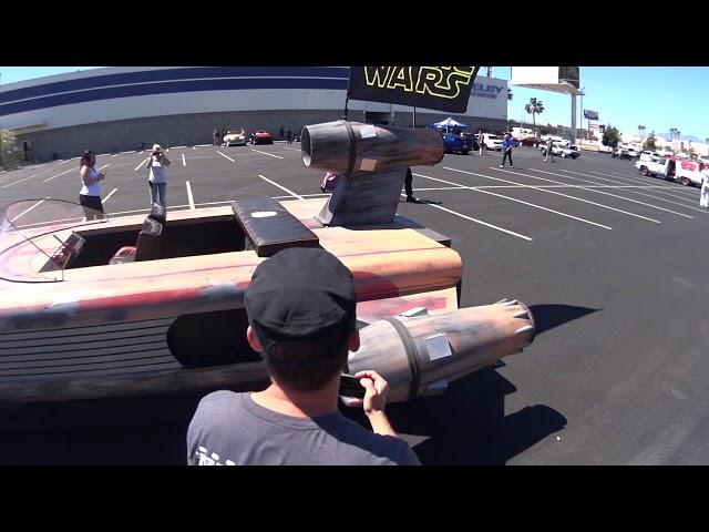 Las Vegas Car Stars 2017 - Star Wars Raumschiff