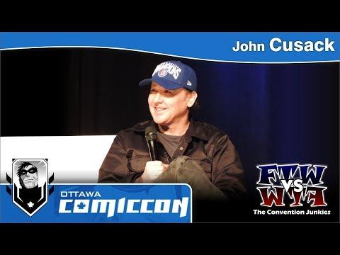 John Cusack  Ottawa ComicCon  Live Panel