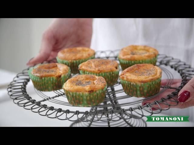 Muffin salati con Crema del Piave