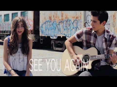 Wiz Khalifa - See You Again Kyson Facer acoustic cover Ft Jada Facer