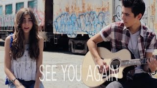 Gambar cover Wiz Khalifa - See You Again (Kyson Facer acoustic cover Ft. Jada Facer)