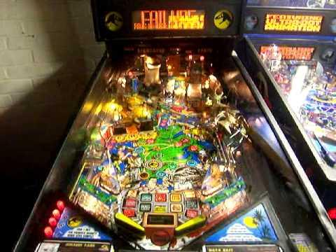 Jurassic Park Arcade Pinball Machine