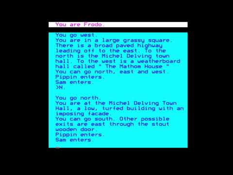 Lord of the Rings: Game One for the BBC Micro