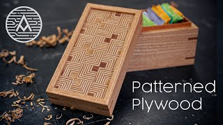 How to Make a Pattęrned Plywood Lidded Box