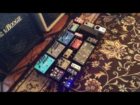 My Guitar Pedalboard and Amps in-depth. Advanced A/B switching, MIDI Demo & Rig Rundown.