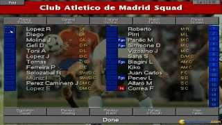 Championship Manager 2 gameplay (PC Game, 1995)