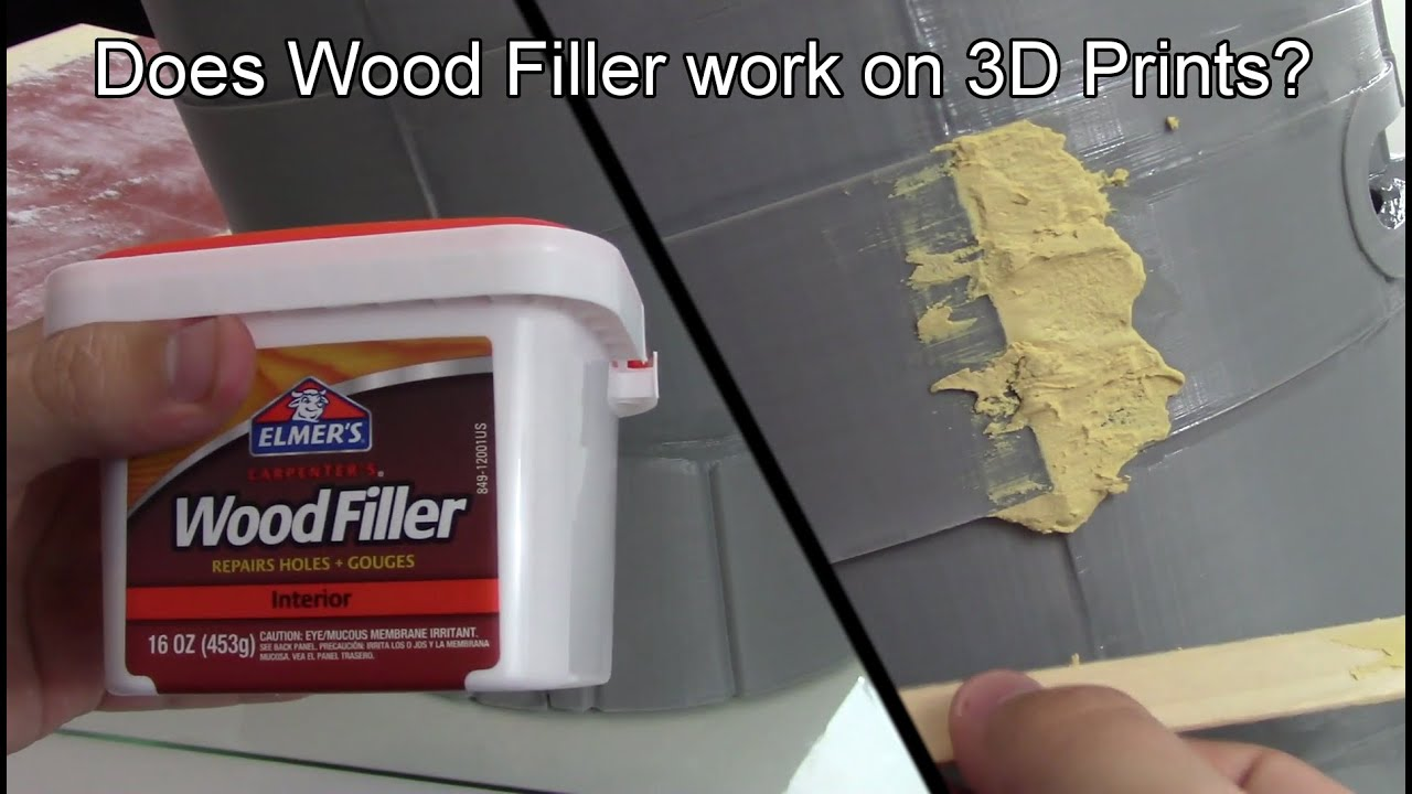 Does Wood Filler Work On 3d Prints Lets Find Out Youtube