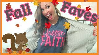 MY FALL FAVES + $200 worth of goodies for YOU!!