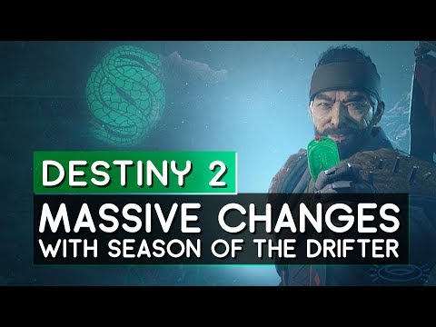 Destiny 2 // MASSIVE Changes In Store!  Season of the Drifter thumbnail