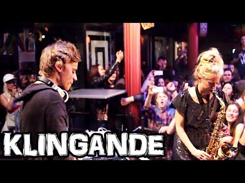 Klingande + The Lovely Laura (Live Sax) • Jubel • Club Max