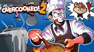 Over Cooked 2 - THIS COOKING IS TERRIBLE!!! 2v2!