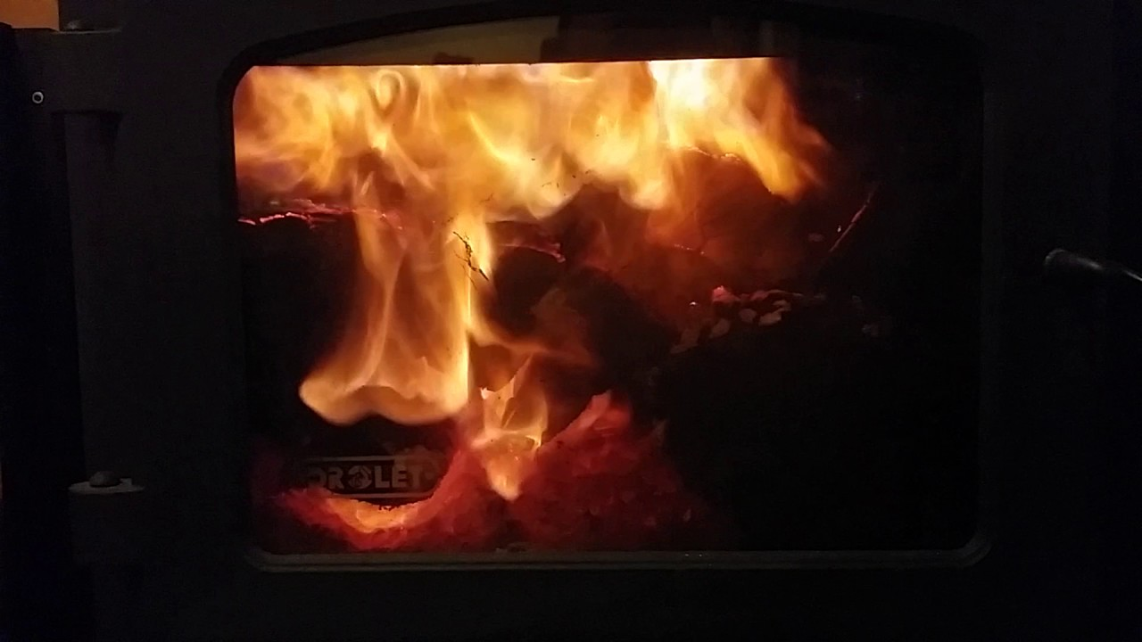 Drolet Wood Stove Secondary Combustion Youtube