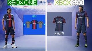 ФІФА 19 | Xbox Один проти консолей Xbox 360 | графіки порівняння