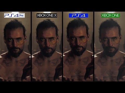 Far Cry 5 | ONE X vs PS4 Pro vs PS4 vs ONE | GRAPHICS COMPARISON