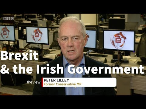 Peter Lilley on the Irish Government and Brexit