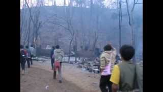 51-Ban Mae Surin Refugee Camp Fire-The Morning After