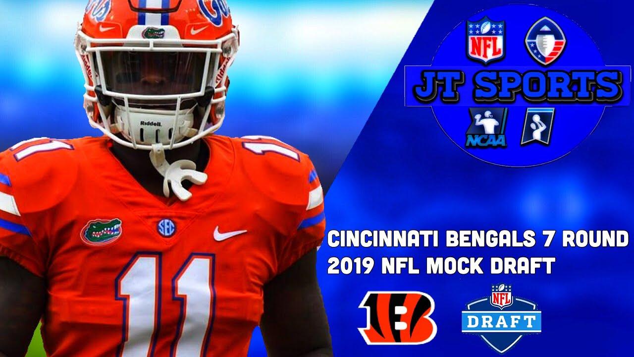 fa401b67 Cincinnati Bengals 7 Round 2019 NFL Mock Draft | 2019 NFL Draft ...