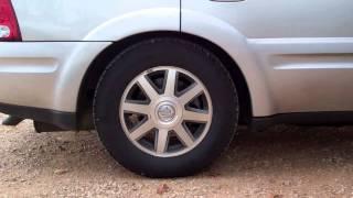 Buick Ranier air bags