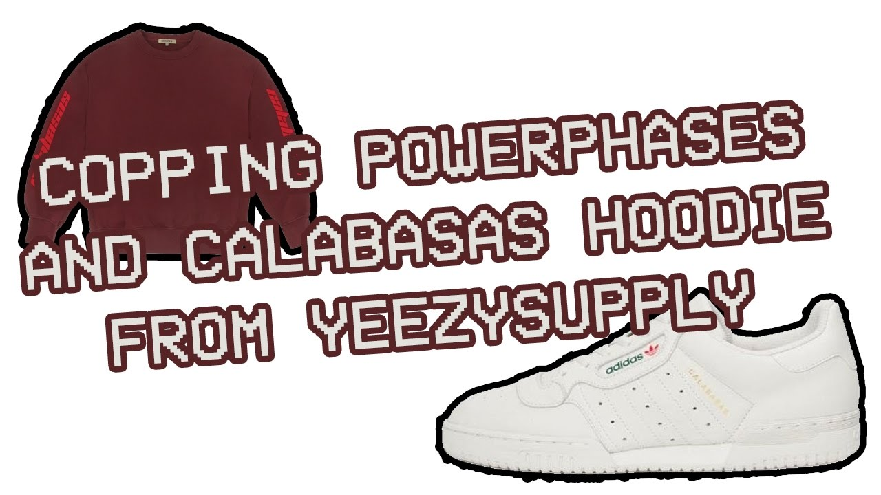 58d5cf37c6e POWERPHASES AND CALABASAS HOODIE FROM YEEZYSUPPLY MANUAL - YouTube