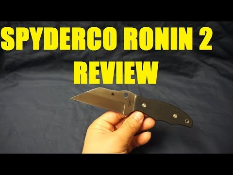 Spyderco Ronin 2 review