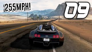 Need for Speed: Hot Pursuit Remastered - Part 9 - BUGATTI TOP SPEED RUN (255 MPH)