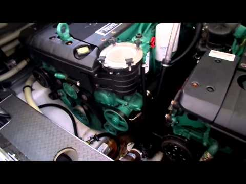 Formula 40 SS Engine Room