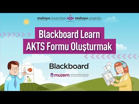 Blackboard Learn AKTS