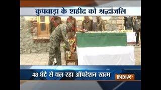 Army pays tribute to Kupwara martyr Deepak Thusoo in Srinagar