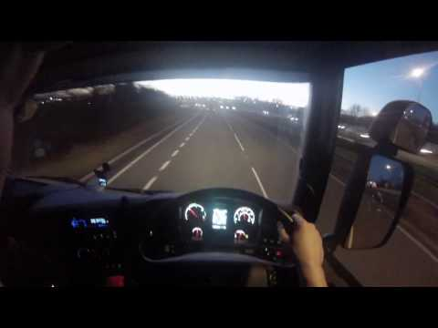HGV driving tips Drive along Nottinghamshire to Derbyshire