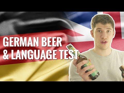 British Guy Tries German Language Test (And German Beer...)