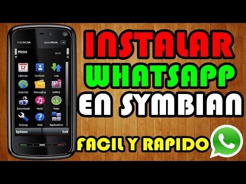 Como Instalar WhatsApp En | Nokia | Sony Ericsson | Samsung | SYMBIAN