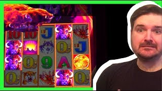 This BUFFALO STAMPEDE Could Be AMAZING! Slot MachineBIG WIN  BONUS Fun W/ SDGuy1234