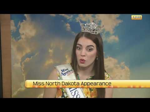 North Dakota Today Miss North Dakota Appearance