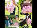 pink baby diaper bag for girls