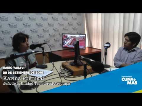 Entrevista a Karina Portugal - Radio Yaravi