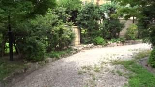 旧乾家住宅庭園 御影