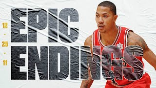 Derrick Rose Hits Game-Winning Floater Vs. Lakers In Xmas Day Showdown! | Final 3:57