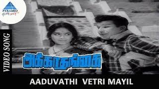 Akka Thangai Exclusive  Song | Aaduvathu vetrimayil  Song | JaiShankar | KR Vijaya