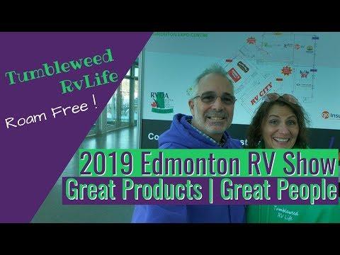 39th EDMONTON RV EXPO & SALE | Tumbleweed RV Life, Roam Free