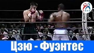Костя Цзю против Сэмми Фуэнтеса. Бокс. Бой №6.