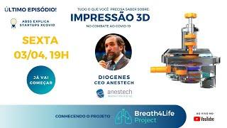 ABSS Explica - Tudo o que você precisa saber sobre... - Ep8 - IMPRESSÃO 3D - Projeto Breath4Life