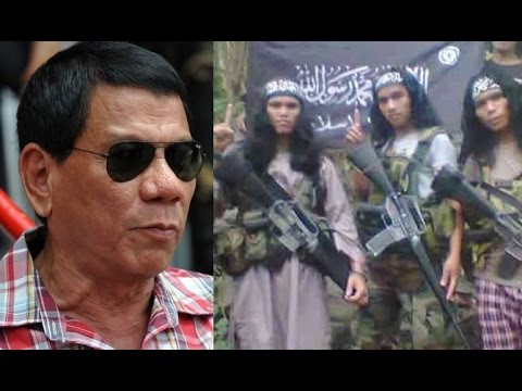 President-Elect R. Duterte's Plan for Abu Sayyaf