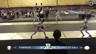 Novi Sad European Championships 2018 Day06 T16 WE ITA vs ISR
