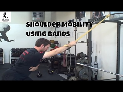 Shoulder Joint Mobility and Traction with Bands